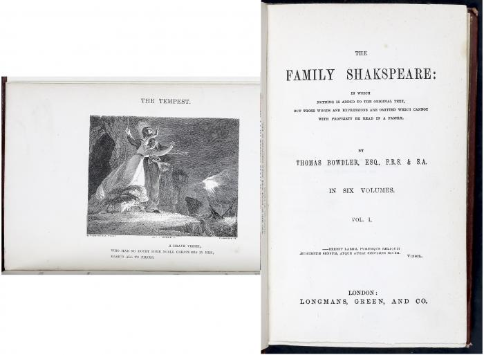 The Family Shakespeare: in Four Volumes