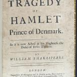 Thumbnail for The Tragedy of Hamlet Prince of Denmark, as it is Now Acted at his Highness the Duke of York's Theatre
