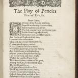 Thumbnail for The Late, and Much Admired Play, Called Pericles, Prince of Tyre