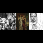 Thumbnail for B17 Shakespeare Quotation. Othello Collection: Emilia and Othello