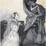 Thumbnail for B14 Shakespeare Quotation. Othello Collection: Othello and Emilia