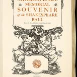 Thumbnail for Shakespeare Memorial Souvenir of the Shakespeare Ball: 1616-1916